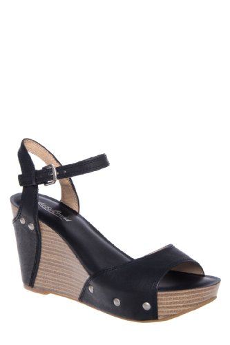 Lucky Brand Marshha High Wedge Platform Sandal