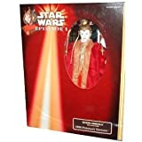 Star Wars Episode 1 Queen Amidala Red Senate Gown Collectors Doll