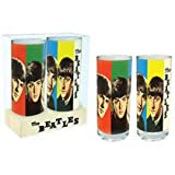The Beatles - Fab Four Glass Set