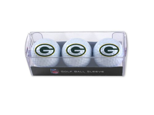Hot NFL Green Bay Packers 3-Pack Golf Ball Sleeve