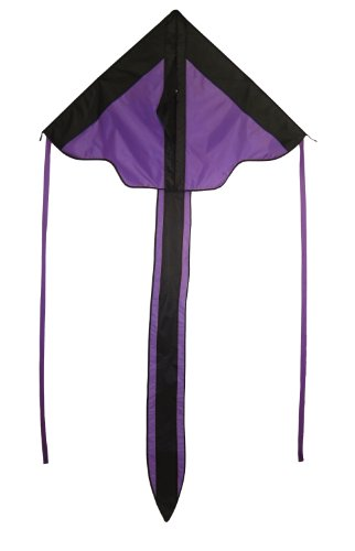 In the Breeze Purple Arrow Fly-Hi Delta Kite, 46-Inch