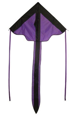 In the Breeze Purple Arrow Fly-Hi Delta Kite, 46-Inch