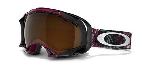 Oakley Eero Ettala Splice Snow Goggles (Aperture Magenta/Black Iridium)