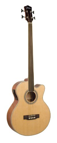 Johnson JB-24F-NA Deep Body Jumbo Bass, Fretless
