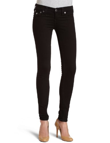 True Religion Women's Misty Legging Jean in Supervixen Black from True Religion