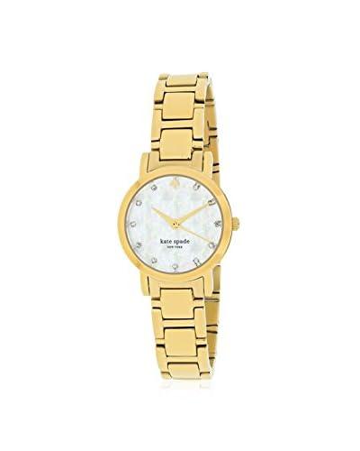 kate spade new york Women's 1YRU0145 Gramercy Mini Gold-Tone Stainless Steel Watch