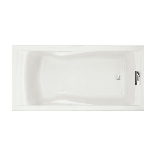 American Standard 7236V002.020 Evolution Bathtub with Form Fitted Back Rest, White (Soaking Bath Tub compare prices)
