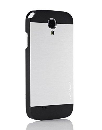 Luxury Motomo Ultra-thin ALUMINIUM Case Back Cover for Samsung Galaxy S4 i9500: Silver