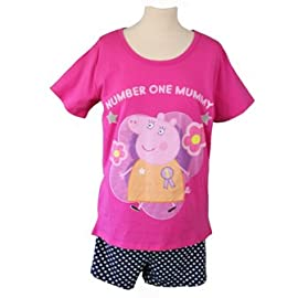 Number One Mummy Pig Pyjamas