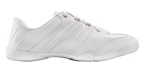 Game Day Cheer Shoe , White, 7.5