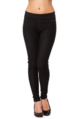 Emma's Mode Junior Skinny Fit Soft Knit Legging Jegging Pants