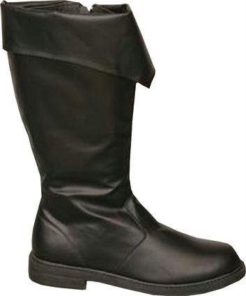 Costumes For All Occasions Ha52Bklg Boot Pirate Black Men Lg