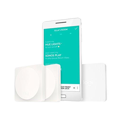 Logitech POP Kit de démarrage avec Interrupteur domotique Blanc
