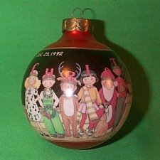 Teacher 1992 Hallmark Ball Christmas keepsake ornament