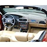 Black Carpet Dash Cover: 00-05 Mitsubishi Eclipse