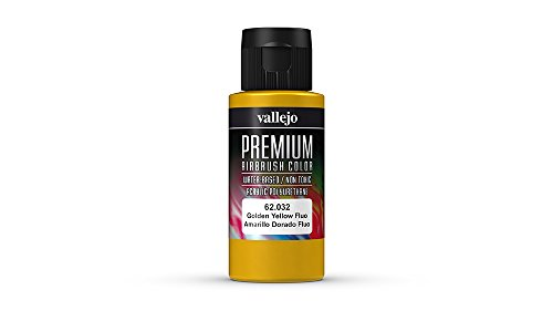 Vallejo Color Fluorescent Golden Yellow Premium RC Colors