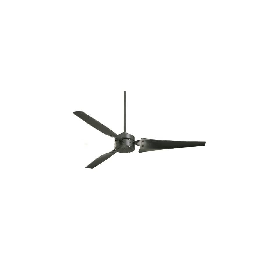 Emerson CF765BQ Ceiling Fan with 4 Speed Wall Control and 60 Inch Blades, Barbeque Black Finish