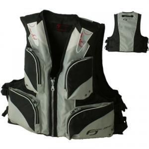 Cheap bargains! Floating best FV-6001 gray × black life jacket
