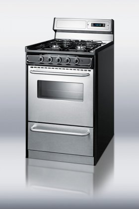 Summit-Appliances-TNM13027BFKWY-20-Inch-Gas-Range-With-Electronic-Ignition-Stainless-Steel-And-Black