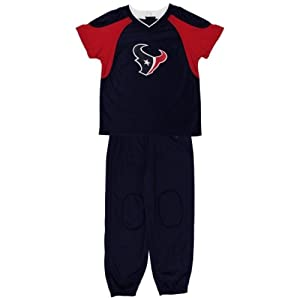 Buy Houston Texans Toddler Football Uniform Jersey and Pant Set - Navy Blue by OuterStuff