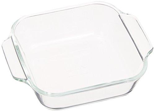 iwaki ベーシックシリーズ オーブントースター皿(ハーフ) 340ml KB3840