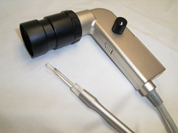 13000 Pixel Ear Scope with LED Light Optical Fiber Earwax Remover (Black) by Coden