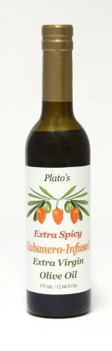 Plato's Extra Spicy Habanero Extra Virgin Olive Oil (Hot) by 