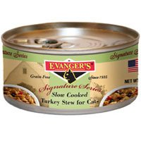 Evangers Signature Series Slow Cooked Turkey Stew Canned Cat Food