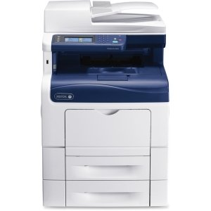 Xerox WorkCentre 6600 6605DN Laser Multifunction Printer - Color - Plain Paper Print - Desktop - Copier/Fax/Printer/Scanner - 36 ppm Mono/36 ppm Color Print - 35 ipm Mono/35 ipm Color Print (ISO) - 1200 x 1200 dpi Print - 36 cpm Mono/36 cpm Color Copy - 3