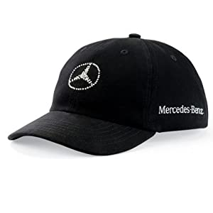 mercedes benz women 39 s crystal logo black