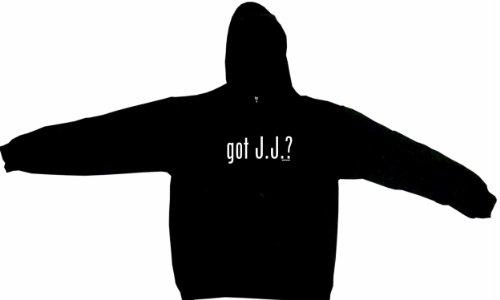 Got J.J. Jj Men'S Hoodie Sweat Shirt Xxxxl (4Xl), Black