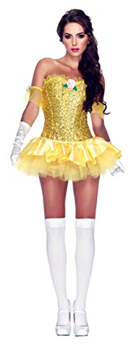 Leg Avenue Womens Storybook Enchanting Beauty Theme Party Halloween Costume