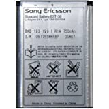 Battery for Sony Ericsson BST-36 Z550i, J300, K510i, K310i, W200i Li-ion 750 mAh