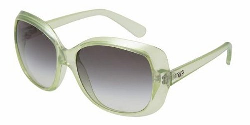 D&g 8075 Crystal Green Fluro 16978e D&g Sunglasses