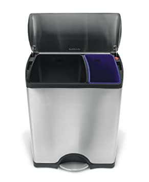 Trash Can Recycle Bin Combo