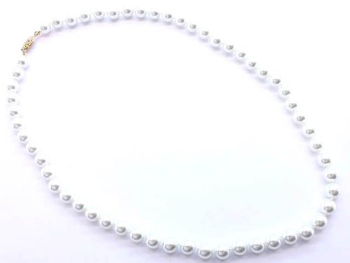 NECKLACE PEARL 10 mm BALL DIA WHITE Fashion Jewelry Costume Jewelry fashion accessory Beautiful Charms