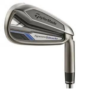 TaylorMade SpeedBlade Single Iron, 4 Iron, Steel, Stiff flex, right handed
