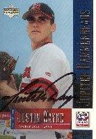 Justin Wayne Jupiter Hammerheads - Expos Affiliate 2001 Upper Deck... by Hall of Fame Memorabilia