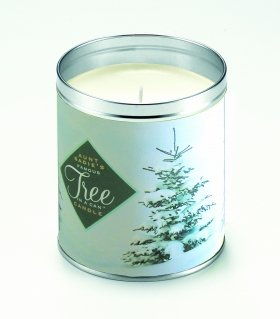 Aunt Sadies Winter Trees Candle