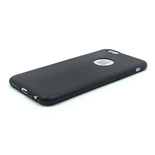 newest d48ec 833b0 Enthopia Ultra Thin 0.3mm Black Soft Silicone Slim Back Case Cover for  Apple Iphone 6, Apple Iphone 6s