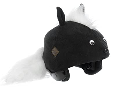 Tail Wags Equestrian Helmet Covers (Skunk, Adult) from Tail Wags Helmet Covers