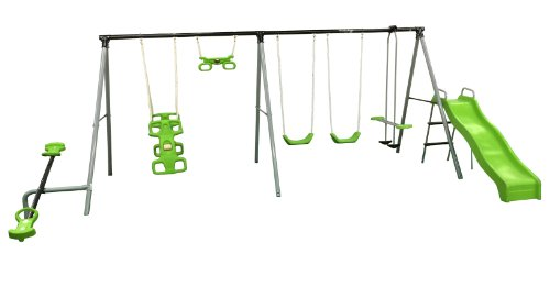 Buy Discount Flexible Flyer World Of Fun Swing Set