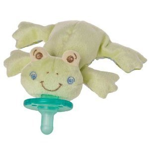 Baby / Child Safety Tested Mary Meyer Wubbanub 100% Soft And Cuddly Pacifier Infant Collection - Hop Hop Frog Infant front-376631