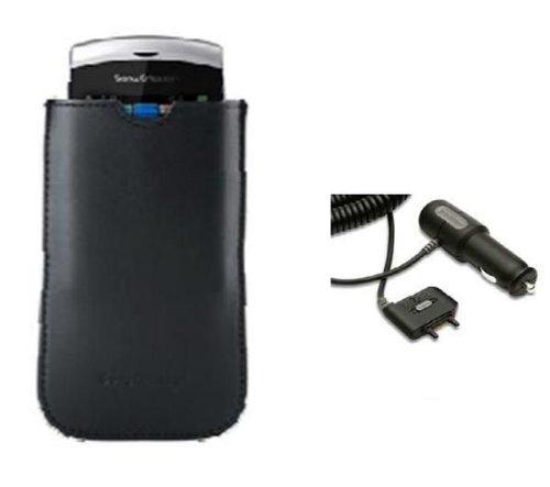 Pack voiture chargeur allume-cigare CLA60 + étui CA750