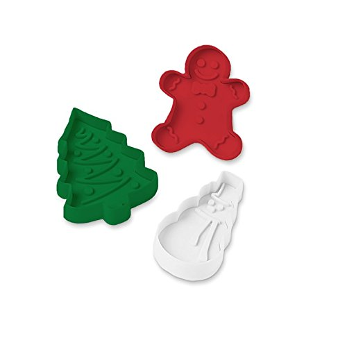 Holiday 3-in-1 Surprise Cookie Cutter Set (Detail Cutter compare prices)