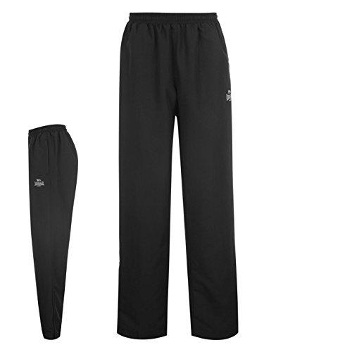 Lonsdale -  Pantaloni sportivi  - Uomo nero 3XL