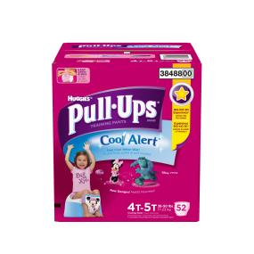 Pull-Ups Cool Alert potty training pants get cool when wet to help your toddler learn to potty