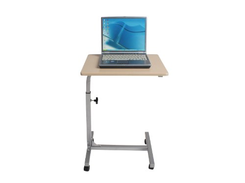 Coavas Mobile Laptop Computer Stand Desk Portable Fashionable Laptop Cart Reading Holder with Swivel BlackTop (Kids Metal Tv Tray compare prices)