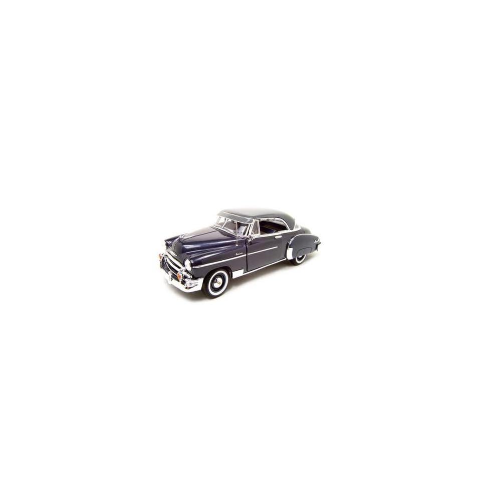 1950 CHEVY BEL AIR GREY 118 SCALE DIECAST MODEL