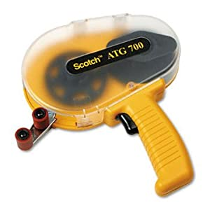 Scotch ATG700 - Adhesive Transfer Tape Applicator, Clear Cover